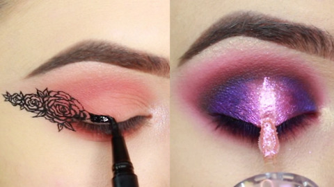 FLOWER EYELINER AND MORE NEW AWESOME EYE MAKEUP TUTORIALS