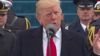 President Trump says today is a historical day - Video