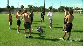 Plant City student-athletes return to the football field
