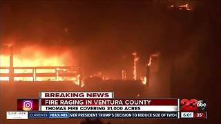 Evacuee of Thomas Fire Shares her Story - Video