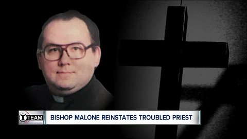 I-TEAM: Bishop Malone reinstates priest with history of pornography problems