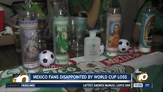 Mexico fans disappointed by World Cup loss - Video