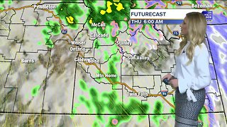 A wet and chilly Halloween and below average temperatures