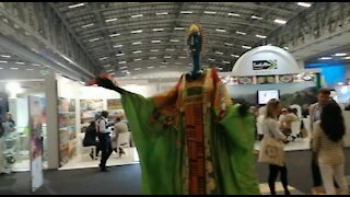 SOUTH AFRICA - Cape Town - The World Trade Market Expo (Video) (9qb)