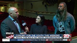 Concert for youth this weekend - Video