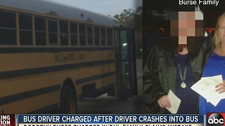 Pinellas County bus driver arrested for DUI after crash