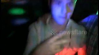 Modern Family's Nolan Gould dancing with fans in London club - Video