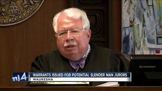 Warrants issued for potential Slender Man jurors behind on paperwork - Video