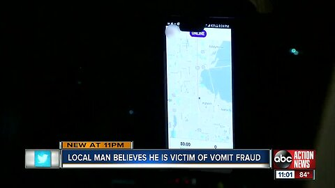 Pinellas County man believe he was victim of vomit fraud