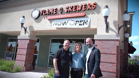 Banking on Business: Flame and Skewers