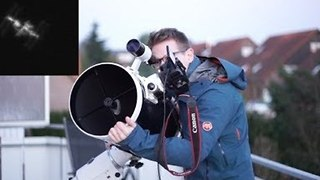 Man Films International Space Station Through His Telescope - Video