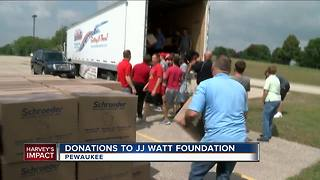 J.J. Watt Fundraiser reaches $12 million - Video