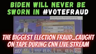 VOTE FLIPPING CAUGHT LIVE on #CNN | #StopTheSteal