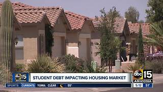 Student debt impacting housing market - Video