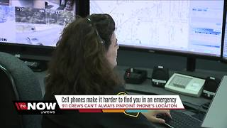A warning from 911 dispatchers: 'Give your location first!' - Video