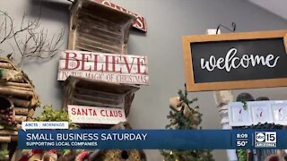 Local flower shop depending on Small Business Saturday boost