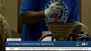 Funding immigration services