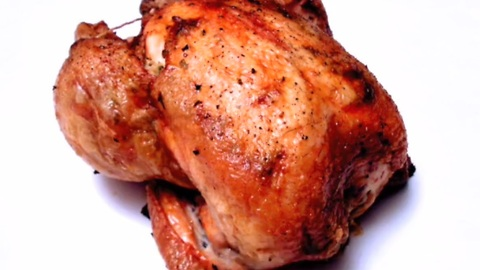 How to make a roasted chicken with preserved lemon and green olives