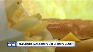 Taking the happy out of Happy Meal? - Video