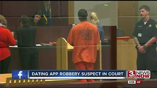 Man in court after dating app robberies - Video