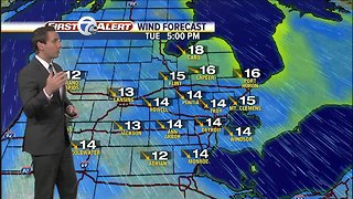 FORECAST: Tuesday Afternoon - Video