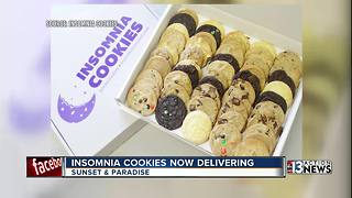 Insomnia Cookies now delivering - Video