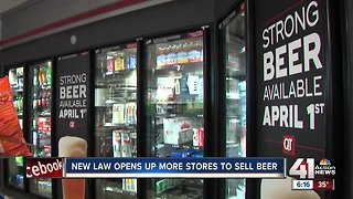 KS to allow higher alcohol content beer in grocery stores
