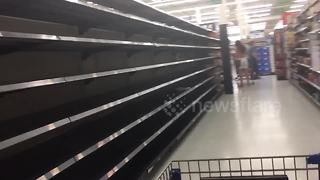 Florida stores run out of supplies as residents prepare for Hurricane Irma - Video