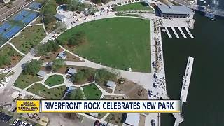 Riverfront Park reopening, Mayor Buckhorn's Mac and Cheese Fest merges for fun event - Video