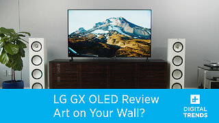 LG GX OLED Review | Art on Your Wall?