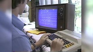 Throwback: 1982 microcomputer festival at Indianapolis Children's museum - Video
