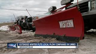 Spring snow causes headaches in Waukesha County
