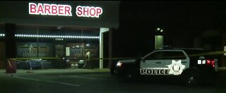 Police investigate shooting, stabbing
