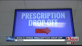 Kohl's opens prescription drop-off - Video