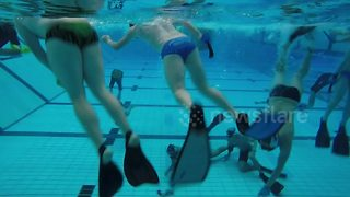 Teams battle it out in British underwater hockey championships - Video