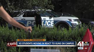 First year for legal conceal and carry at Kansas universities begins - Video