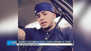 Suspect accused in deadly crash in court