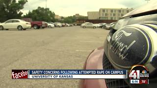 Students concerned after attack on KU campus