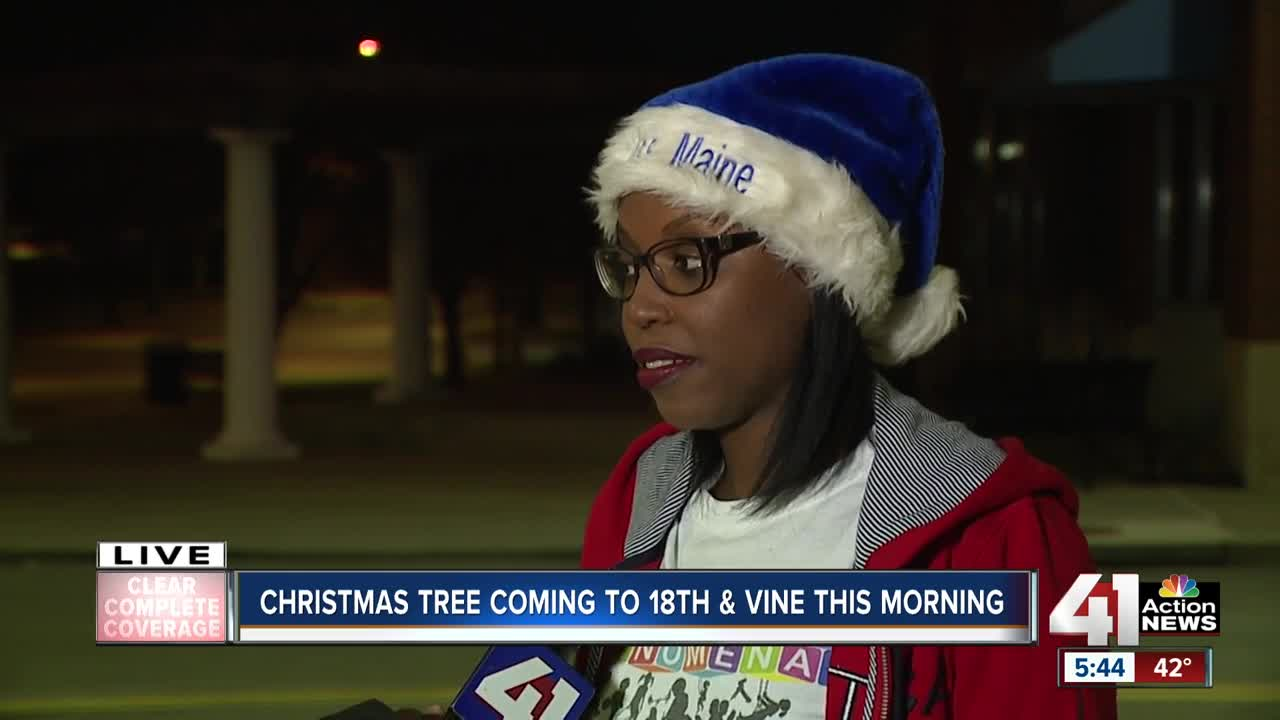 Christmas tree coming to 18th and Vine District