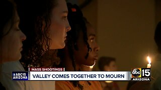 Valley comes together to mourn mass shooting victims