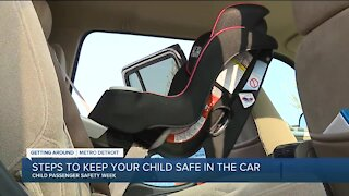 Steps to keep your child safe in the car