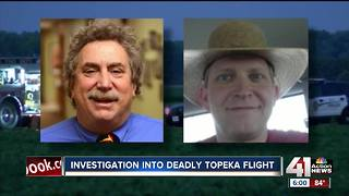 Investigation into deadly Topeka flight - Video
