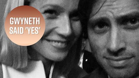 Gwyneth Paltrow is engaged to Glee co-creator