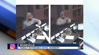 Police looking for man who robbed hotel at gunpoint in Roseville