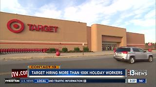 Target hiring more than 100K workers - Video
