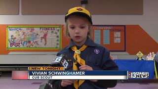 First girls accepted into Cub Scouts program - Video