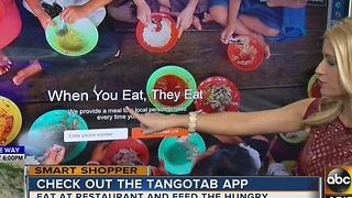 Smart Shopper: Feed the hungry with a FREE smartphone app - Video