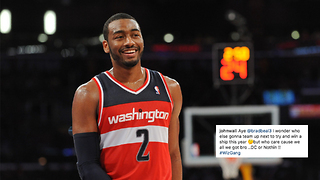 John Wall DISSES NBA Super Teams on Instagram - Video