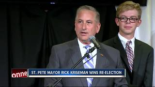 Rick Kriseman wins re-election for mayor of Saint Petersburg - Video