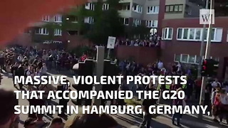 Protesters in Germany Prevent Melania Trump From Joining Summit Activities - Video